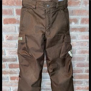 Burton Dry Ride Snowboarding Pants Fully Lined